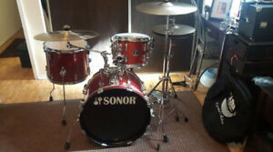 sonor drums shell pack