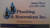 A.H Plumbing and Renovations / property maintanance