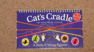 Cat's Cradle String & Techniques (Eiffel Tower, Jacob's Ladder..