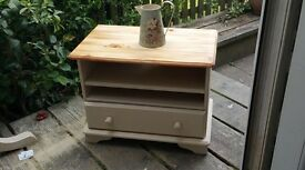 Up cycled solid pine cabinet