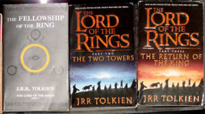 The Hobbit & The Lord of the Rings  & The Silmarillion books
