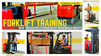 Forklift Training  from 30% off - New / Experienced / Renewal