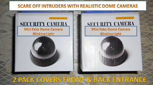 2 Pack Mini Fake Dome Cams (Front/Back Ent) Chilliwack