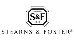KING SIZE STEARNS AND FOSTER POCKET COIL MATTRESSES
