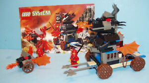 LEGO CASTLE NINJA no 3051, le BLAZE ATTACK