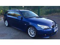 BMW 520d Touring M Sport, FSH, Sat Nav, MOT,