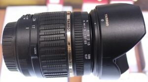 TAMRON 17-50MM LENS (CANON MOUNT)