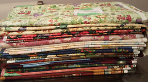 New Cotton Quilt Fabric - Group Lot 300+ Yards