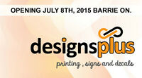 Grand Opening Designs Plus, Printing, Signs and Decals