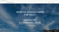 https://Canmore.Homes website domain name for sale