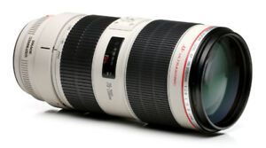 *Canon EF 70-200mm f/2.8L IS II USM camera lens*