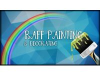 Raff Painting & Decorating, inside and outside , wallpaper and coving hanging