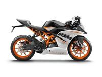 2015 KTM RC 390 WHITE, BRAND NEW! ON THE ROAD
