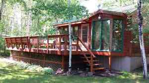 Clear Lake Cabin for sale in Grey Owl Estates