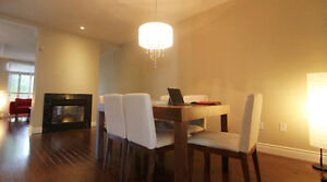 Huge townhouse in Oakville with 3 bedrooms all with ensuite