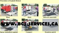 ASPHALT REPAIRS SEALING NEEDED CALL THE PROS AT BCS SERVICES