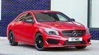 CLA 2014 4Matic - Rouge mags noir