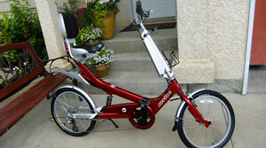 Giant Recumbent Bike 8 Speed Brand New Condition Fits All Sizes
