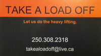 Movers in Vernon and the Okanagan - Take A Load Off Moving