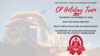 CP Holiday Train in Belleville