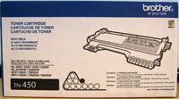 Brother TN-450 Black Toner Cartridge, High Yield