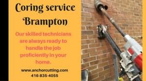 Coring Services in Brampton