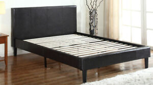 LEATHER BED FOR $199 ONLY DELIVERY AVAILABLE 647 624 5360