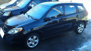 2004 Toyota Matrix Xr-4 cylinder, E-tested. One owner.
