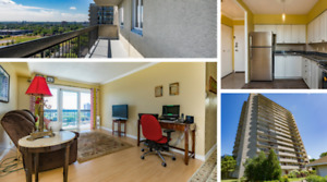 Well-Maintained 2 Bedroom Condo In Chateau Vanier