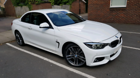 2018 BMW 435D ONLY 5.3K! F33 LCI XDRIVE MSPORT CONVERTIBLE