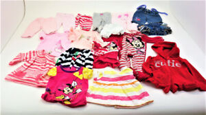 Baby Girl Clothes Lot for Size 0-6 Months