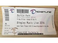 Bingley Music Live Festival - Early Bird Adult Weekend Ticket
