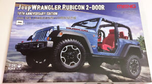 Meng 1/24 Jeep Wrangler Rubicon 10th Anniversary Edition