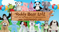 DIY Stuff Your Own Teddy Bear Birthday Party Supplies