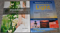 Wedding & Light Photography books-Brand New!