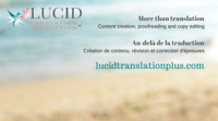 Translation English-French, Proofreading, Copy Editing services