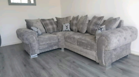 *4 Seater Verona Corner Sofa With Scatter Back Cushions