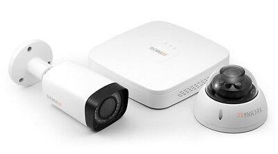 Technaxx Midi Security Kit Pro Full HD 1080P TX-51 Überwachungskamera Set