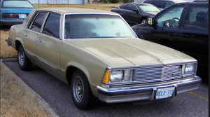 1981 Chevrolet Malibu Sedan