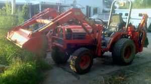 Kabota B1700 Tractor Package Deal For Sale