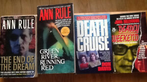 TRUE BOOKS $5 each or 3/$10:CRIME: GREEN RIVER RUNNING RED (Ann