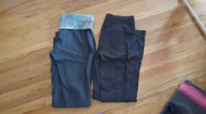 ladies size medium yoga pants