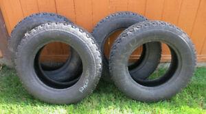 Toyo 185/70 SR14 snow tires set of 4