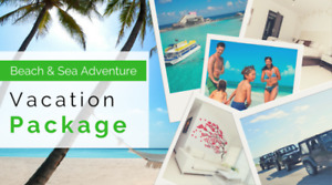 Beach and Sea Vacation Package with Condo!