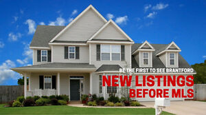 Search Brantford Homes - New Listings 1 Day Before MLS!