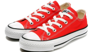 LTB Size 2 Red  Converse Sneakers