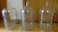 Wine 5 Gallon Glass Carboys New Condition  $20.00  (5 Available)