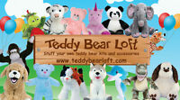 DIY Stuff Your Own Teddy Bear Birthday Party Supplies and Gifts