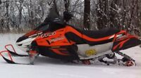 Must sell 2008 Arctic Cat F1000 SnoPro Price Reduced