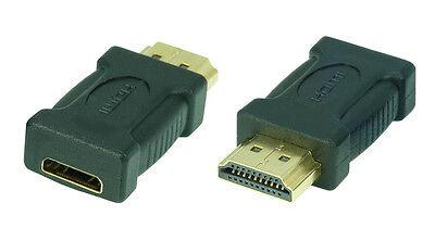 High Speed HDMI-Adapter | mini HDMI-Buchse(C) auf HDMI-Stecker(A) | #DA553